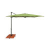 This item: Skye Ginkgo and Black Cantilever Umbrella