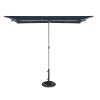 This item: Capri Navy 4.95-Feet x 6.93-Feet Rectangle Balcony Umbrella