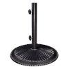 This item: Coral Black Cast Iron Umbrella Base