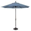 This item: Catalina Cast Ocean and Black Push Button Market Umbrella