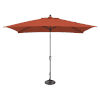 This item: Catalina Tangerine and Black Push Button Market Umbrella