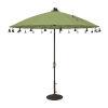 This item: Isabela Green 8.5-Feet Round Auto Tilt Umbrella