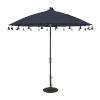 This item: Isabela Navy 8.5-Feet Round Auto Tilt Umbrella