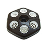 This item: Selene Hexagon 6 Bulb Umbrella Light