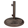 This item: Coral 50 Pound Cast Iron Bronze Base