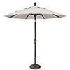 This item: Catalina 7.5 Foot Sunbrella Natural Octagon Push Button Tilt