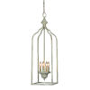 This item: Sally Antique Blue One-Light Pendant