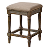 This item: Walker Washed Walnut 24-Inch Barstool Set of 2