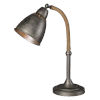 This item: Gage Brushed Pewter One-Light 21-Inch Desk Lamp