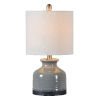 This item: Kayla Rustic Gray One-Light 20-Inch Table Lamp