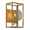 This item: Finley Goldleaf Distressed One-Light Wall Sconce