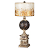 This item: Shiloh Weathered Metal 28-Inch One-Light Table Lamp