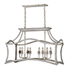 This item: Annie Cottage White 27-Inch Eight-Light Island Pendant