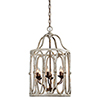 This item: Stella Cream and Rusty Gold Chandelier