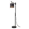 This item: Rosaline Rustic Black Floor Lamp