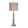This item: Karl Distressed Gray One-Light 44-Inch Table Lamp
