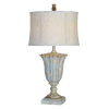 This item: Jillian Antique Blue One-Light 31-Inch Table Lamp Set of Two