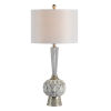 This item: Dusky Silver and White One-Light 30-Inch Table Lamp