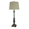 This item: Rory Aged Raw Metal One-Light 35-Inch Buffet Lamp