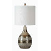This item: Clemett Silver Tone One-Light 28-Inch Table Lamp