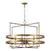 This item: Antique Gold 31-Inch Four-Light Chandelier