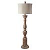 This item: Windsor Distressed Cream Floor Lamp