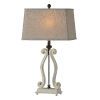This item: Alaina Cottage White One-Light 29-Inch Table Lamp