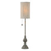 This item: Millie Blue and Gold One-Light 28-Inch Buffet Lamp - Set of Two