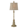 This item: Tiffany Cream and Gold One-Light 32-Inch Buffet Lamp Set of Two