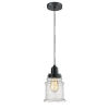 This item: Winchester Matte Black Eight-Inch One-Light Mini Pendant with Black Cord