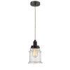 This item: Whitney Oil Rubbed Bronze Eight-Inch One-Light Mini Pendant with Rope Cord