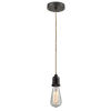 This item: Whitney Oil Rubbed Bronze Two-Inch One-Light Mini Pendant with Rope Cord