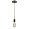 This item: Gatsby Oil Rubbed Bronze One-Light Mini Pendant with Rope Cord