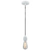 This item: Winchester White Two-Inch One-Light Mini Pendant with Gray Cord