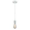 This item: Gatsby White One-Light Mini Pendant with White Cord