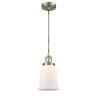 This item: Canton Antique Brass LED Mini Pendant
