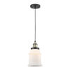 This item: Canton Black Antique Brass One-Light Mini Pendant