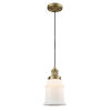 This item: Canton Brushed Brass LED Mini Pendant