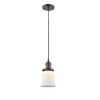 This item: Franklin Restoration Oil Rubbed Bronze Six-Inch LED Mini Pendant with Matte White Canton Shade and Black Textured Cord