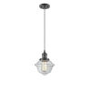 This item: Small Oxford Oil Rubbed Bronze LED Mini Pendant with Clear Glass