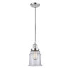 This item: Canton Polished Chrome One-Light Mini Pendant with Clear Glass