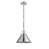 This item: Briarcliff Polished Chrome One-Light Pendant