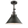 This item: Franklin Restoration Oil Rubbed Bronze 13-Inch One-Light Semi-Flush Mount with Briarcliff Oil Rubbed Bronze Metal Shade
