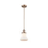 This item: Bellmont Antique Copper Seven-Inch One-Light Mini Pendant