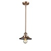 This item: Railroad Antique Copper Eight-Inch LED Mini Pendant