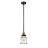 This item: Canton Black Antique Brass 10-Inch LED Mini Pendant with Seedy Bell Glass