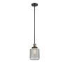 This item: Stanton Black Antique Brass One-Light Mini Pendant