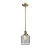 This item: Stanton Brushed Brass One-Light Mini Pendant