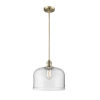 This item: X-Large Bell Brushed Brass LED Pendant