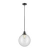 This item: Franklin Restoration Oil Rubbed Bronze 12-Inch One-Light Pendant with Clear Beacon Shade